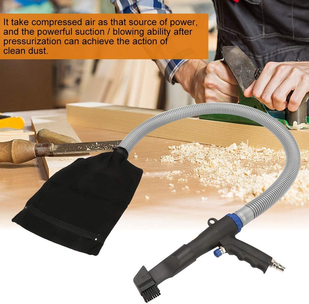 Air Vacuum Pistola ad aria compressa ad alta pressione Air Duster Compressor Blow Aspirazione Pistola Tipo pneumatico Strumento di pulizia