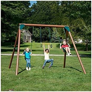 Amazon Com Swing N Slide Playsets Orbiter Wood Complete