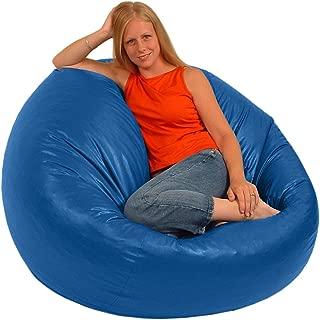 product image for Comfy Bean Beanbag Large Vinyl - Royal Blue