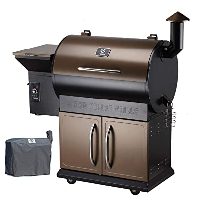 Z GRILLS 2019 New Model Wood Pellet Grill and Smoker