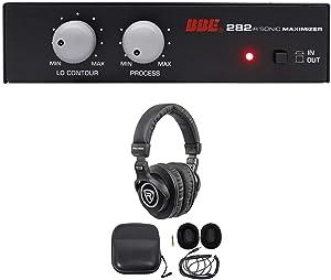 BBE 282IR Desktop Sonic Maximizer w/RCA Inputs/Outs+Recording Studio Headphones