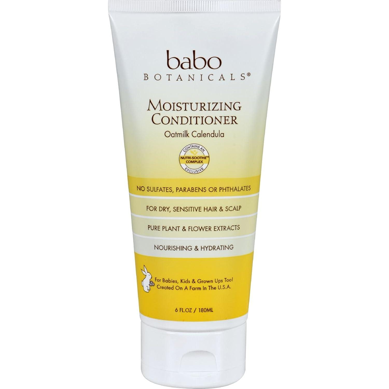 Babo Botanicals Conditioner - Moisturizing - Oatmilk - 6 oz - Dairy Free - U-Nutra