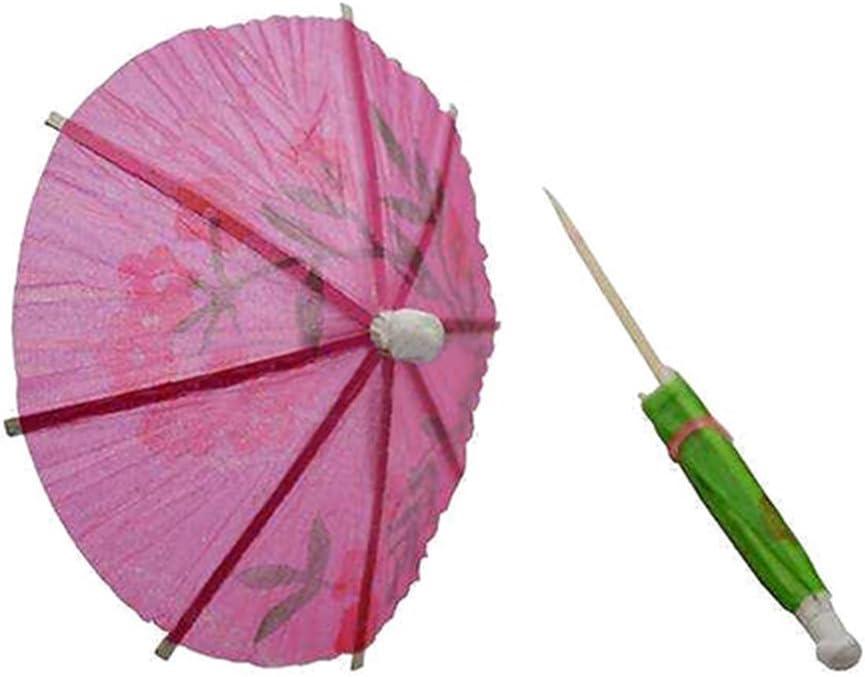 36 mixte Papier cocktail Parapluies des parasols pour des boissons tropicales parti accessoires