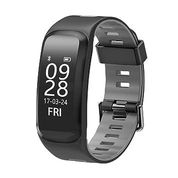 NO.1 F4 Pulsera inteligente, impermeable IP68, mide la presión arterial, el