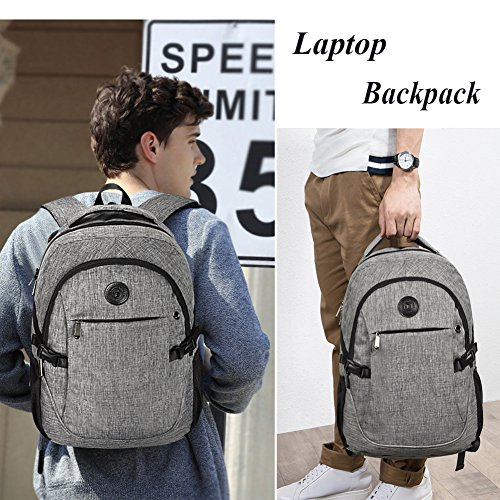 High School Backpack, 15.6'' College Business Travel Laptop Backpack by EASTERN TIME by EASTERN TIME (Image #1)