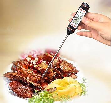 . 1x Digital-Kochen Der Nahrung Stab Thermometer Küche Fleisch Bbq Temperatur