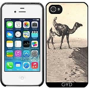 Funda para Iphone 4/4S - Jinete Del Camello Del Desierto by hera56