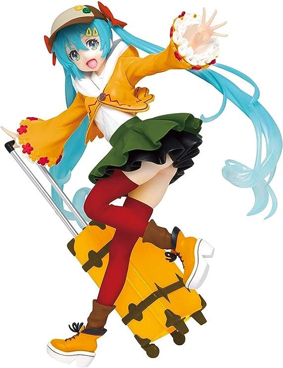 Hatsune Miku Figur original Taito 12cm Figur original sitzend