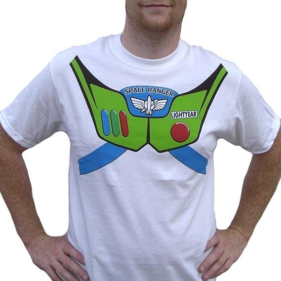 MyPartyShirt Buzz Lightyear - Camiseta de Juguete para Hombre ...