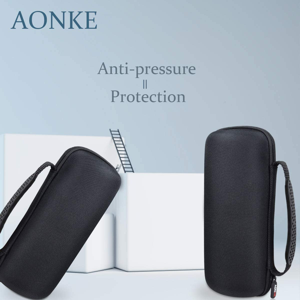 Hard Travel Case Bag for Anker Soundcore Flare Portable Bluetooth 360/° Speaker by AONKE