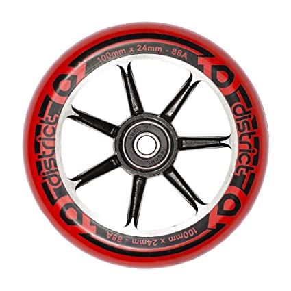 District Cast Alloy Core - Rueda para Patinete (100 mm ...