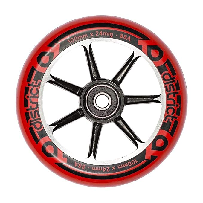 District Cast Alloy Core - Rueda para Patinete (100 mm ...