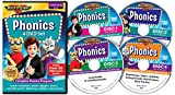 Phonics 4 DVD Set by Rock 'N Learn: Complete