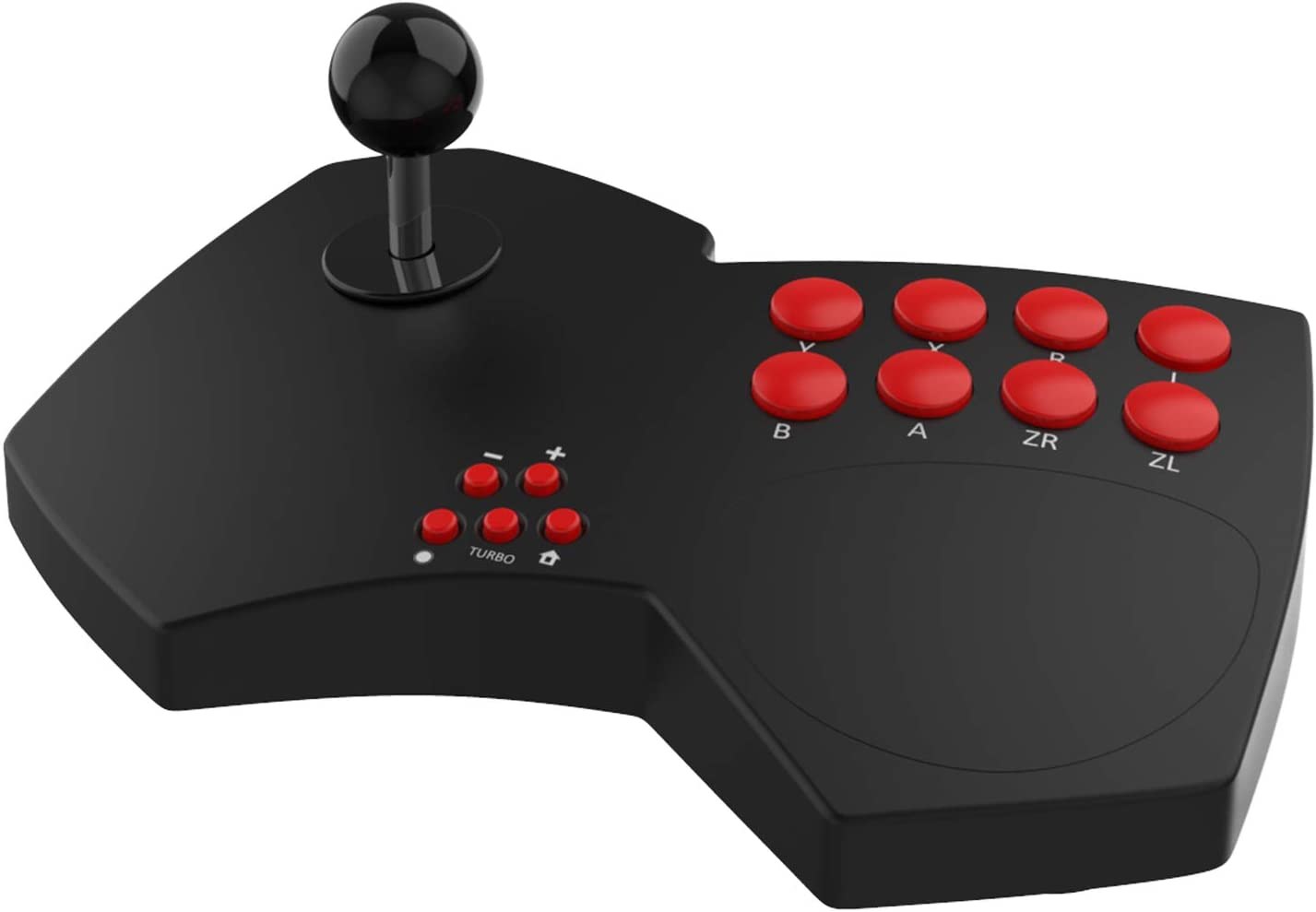 DOYO Arcade Fight Stick,Game Arcade Joystick Multi-Function Joystick for Switch/PC Xinput/PC DirectInput/PS3/TV Android/Raspberry Pi/NeoGeo… (Black-2): Computers & Accessories