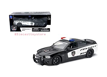 Dodge Charger Pursuit Diecast Police Car 1 24 Scale
