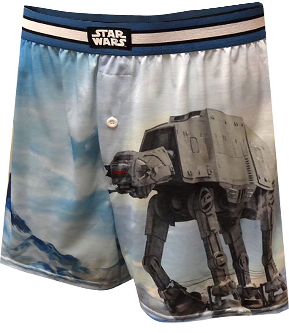 Star Wars Where Am I AT-AT Boxer Shorts for men Mad Engine SWSRCM3