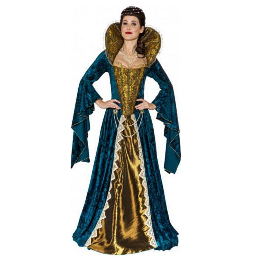 Krause & Sohn Costume Queen Maria Gr. 34-44 vestito lungo (42 44)