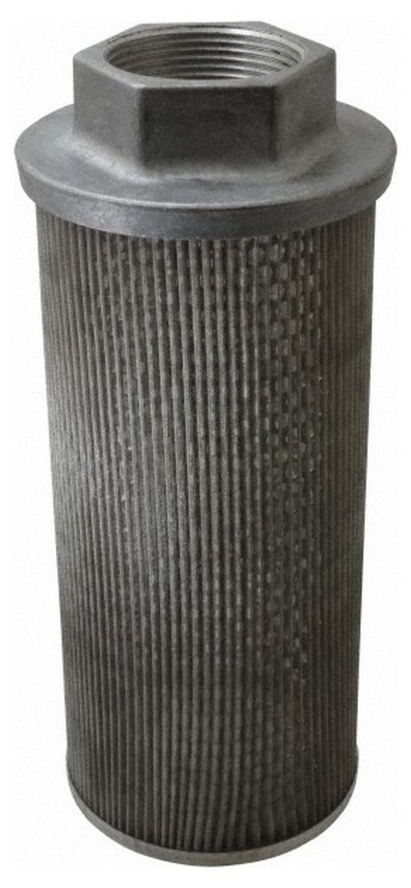 60 Mesh, 284 LPM, 75 GPM, 5.4'' Diam, Female Suction Strainer without Bypass, 2-1/2 Port NPT, 12-1/2'' Long by Flow Ezy Filters