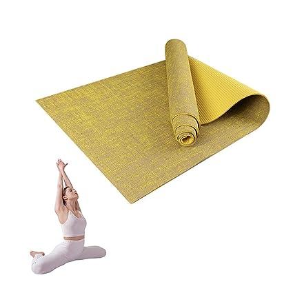 Grist CC Estera De Yoga De Yute Natural Fitness para ...