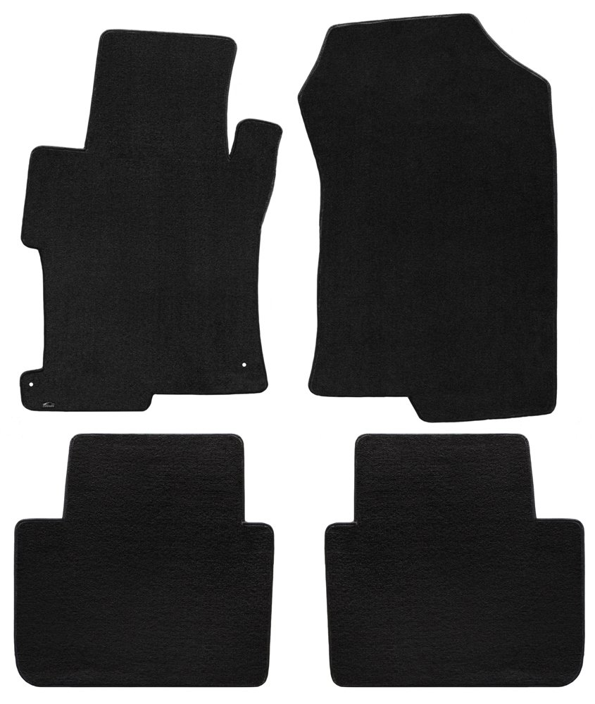 2013-On Lloyd Mats Honda Accord 4 Piece Velourtex Black Carpet Floor Mats