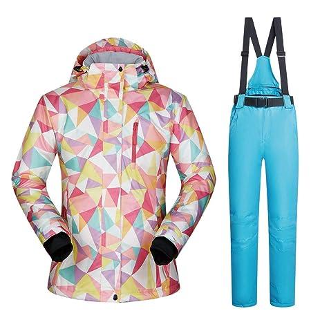 Traje de esquiar Chaqueta y pantalones de esquí para mujer Alta a ...