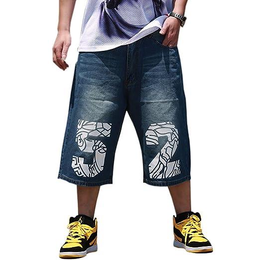 Qbo Mens Fashion Half Pant Denim Shorts Summer Baggy Jeans At Amazon