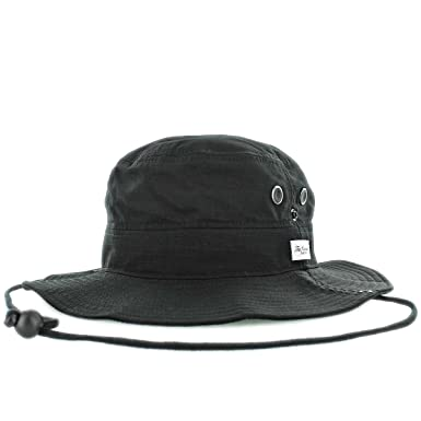51a7f747 The Hundreds Upside Safari Hat (one size fits all, Black) at Amazon ...