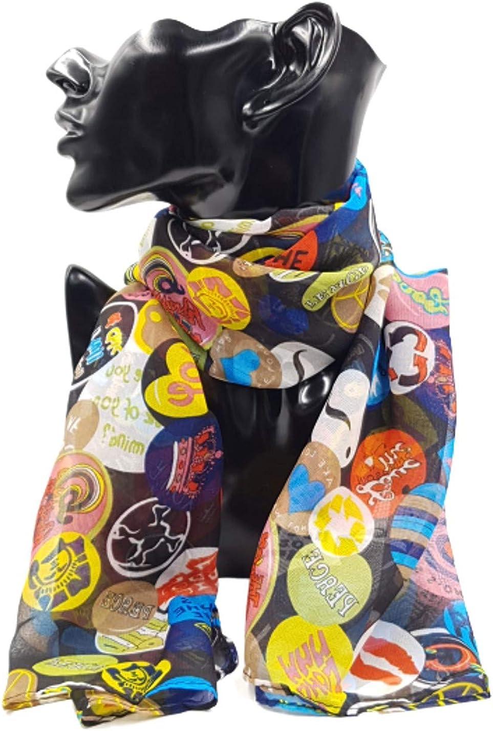 Ornamento perfetto STLP Protezione dal Freddo Uomo e Donna Unisex Autunno e Inverno Generico NW1202 Foulard Sciarpa Adulto e Bambina