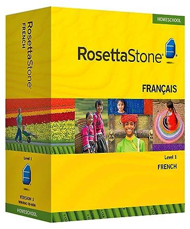 Amazon.com: Rosetta Stone Homeschool French Level 1 including ...
