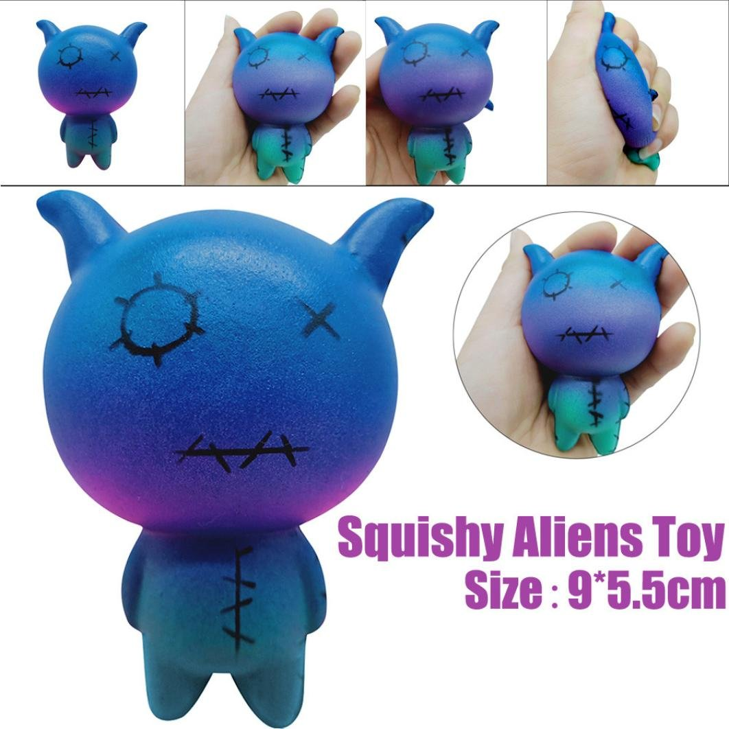 TrimakeShop Squeeze Aliens Sheep Scented Charm Slow Rising 8cm Simulation Kid Toy by TrimakeShop (Image #2)