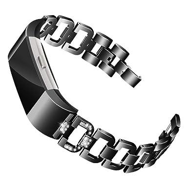 Amazon.com: MChoice ❤️Diamond Stainless Steel Bracelet ...