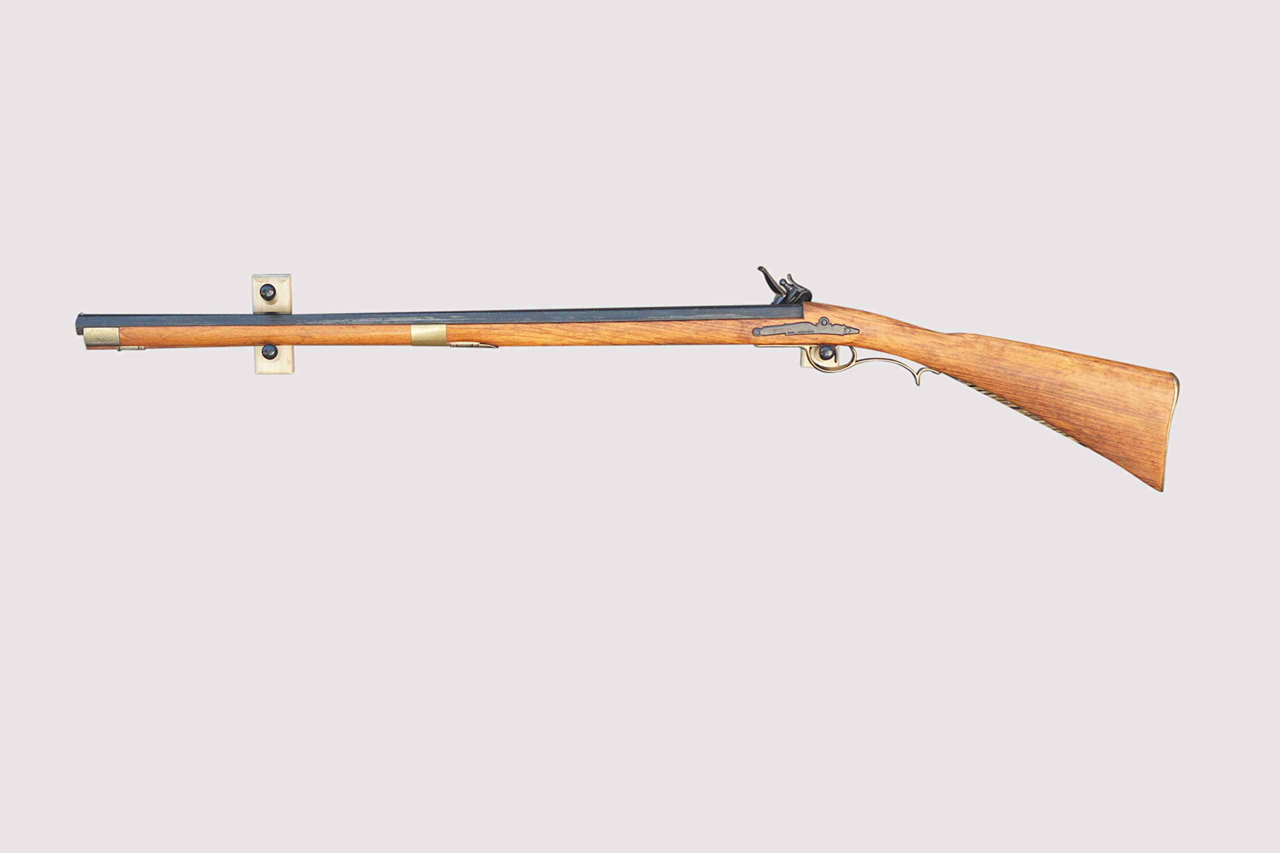 Horizontal Wall Mount for an Antique Rifle (Made in the USA) (Poplar) by KR Ideas
