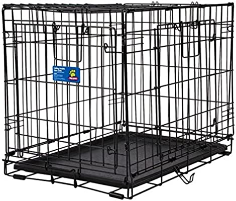 Amazon Top Paw Double Door Wire Dog Crate Size 24l X 18w X