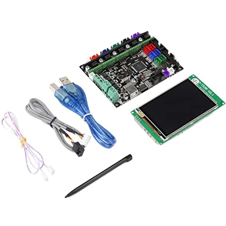 Denash Kit de Placa Base de Impresora 3D MKS Gen L + Pantalla WiFi ...