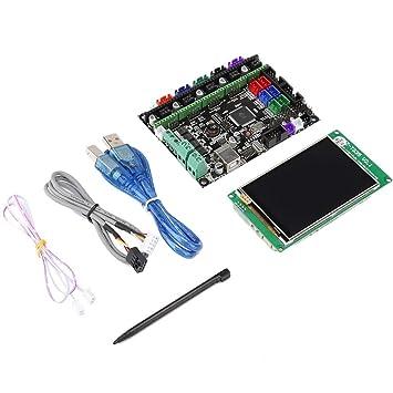 ASHATA Kit de Placa Base de Impresora 3D MKS Gen L + ...