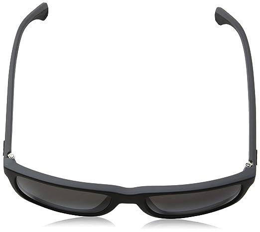 Emporio Armani Mens 0EA4033 Black/Grey Rubber/Polar Grey Gradient Sunglasses