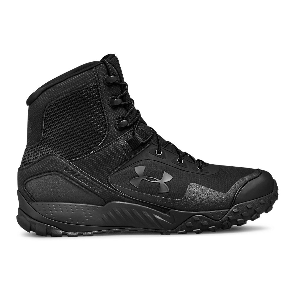 Under Armour Men's Valsetz RTS 1.5 Military and Tactical Boot Ridge Reaper, Black (001)/Black, 10 by Under Armour