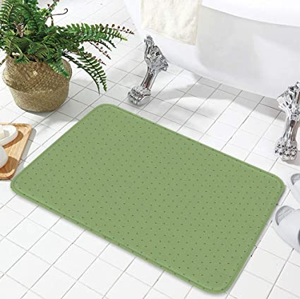 Wondrous Amazon Com Yoliyana Bath Mat Green For Dining Room Interior Design Ideas Gentotryabchikinfo