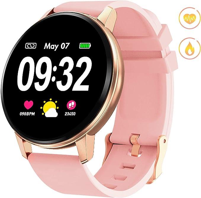 Amazon.com: Reloj inteligente GOKOO, Rosado: TopMall
