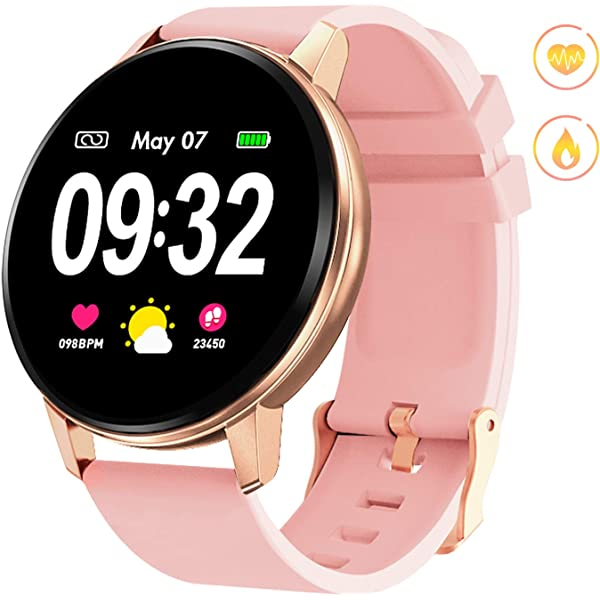 Amazon.com: GOKOO Smart Watch for Women with All-Day Heart ...