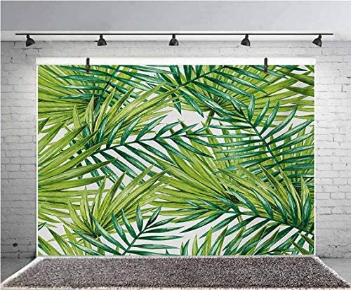 8x12 FT Vinyl Photography Backdrop,Hand Drawn Sketch Fruits with Colorful Triangles and Foliage Leaves Background Background for Graduation Prom Dance Decor Photo Booth Studio Prop Banner