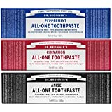 Dr. Bronner's Toothpaste Variety 3 Pack (Variety, 3 Pack)