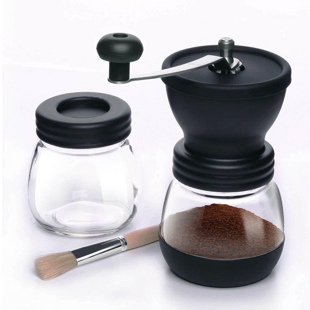 moulin /à main avec le moulin /à main r/églable de broyeur en c/éramique Moulin /à caf/é manuel de TFENG