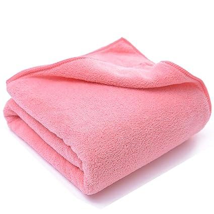 Toalla, [toalla de baño de terciopelo de coral conjunto de toallas de baño de