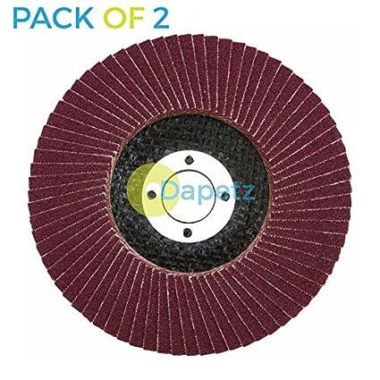 115mm//4.5/'/' Flap Wheels Grinding Sanding Discs 60 Grit Angle Grinder BR