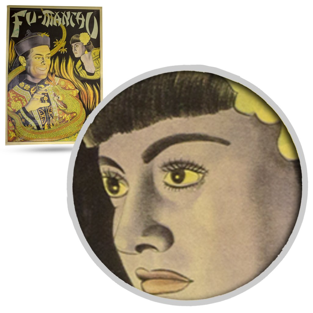 Magic Poster Magic Makers Fu Manchu