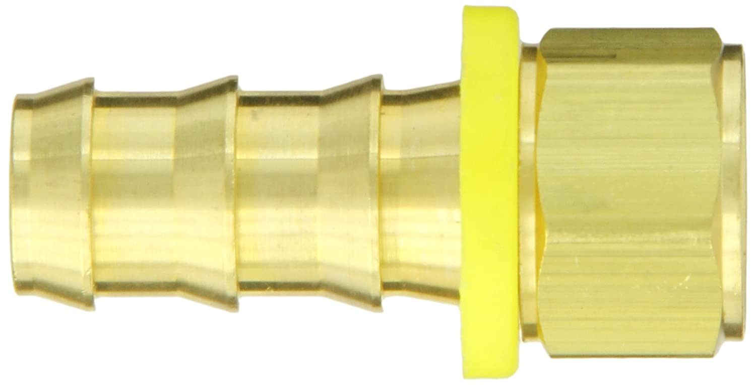 Connector 1//2 Barb x 3//4 Female Pipe Anderson Metals Brass Push-On Hose Fitting