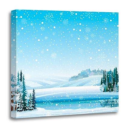 Amazon Com Emvency 20 X20 50x50cm Canvas Painting Wall