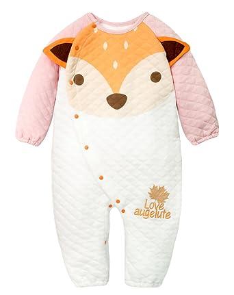 16850d3b9a8ad Y-BOA Grenouillère Barboteuse Pyjama Dors Bien Enfant Bébé Combinaison  Hiver Automne Rose Size1  Amazon.fr  Vêtements et accessoires