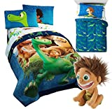 Best Comforter Set With Plushes - Franco Disney The Good Dinosaur TWIN Size REVERSIBLE Review
